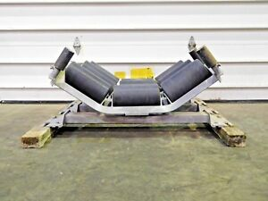 Rx 4364 New Lot Of 3 Supreme Melco Conveyor Roller Idlers 30 Belt Width