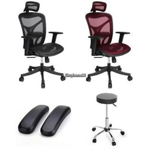 Synthetic Leather Adjustable Wheels Bar Stool Kitchen Modern Design Chair