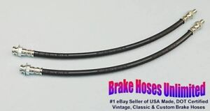 Front Brake Hoses Ford Truck 1 2 Ton F1 1948 1949 1950 1951