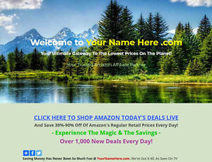 Amazon Affiliate Online Business Website 57c For Sale Over 200 Million Items