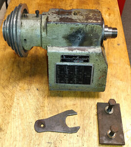 Emco Maximat Standard Lathe Mt2 Quill Head Stock Spindle 1 1 8 X 12 0615