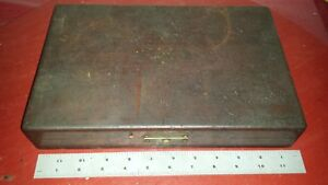 Pratt And Whitney Morse Taper Jig Borer End Mill Set In Wooden Box Mt 1 And 2