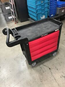 Rubbermaid Trademaster 4513 88 4 drawer Cart