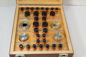 Mint Boxed Set Size Control Co Gear Measuring Wires Sizes 030 To 1 920 Usa