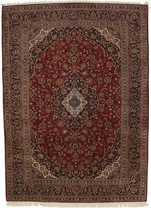 Nice Extra Large Hand Knotted Vintage Persian Rug Oriental Area Carpet 10x14