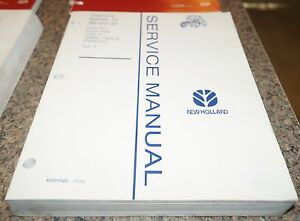 1995 New Holland Series 10 30 Tractor Service Manual Volume 5 Axle