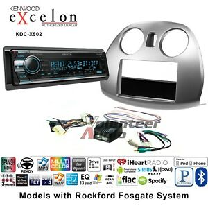 Kenwood Excelon Kdc X502 Car Radio Install Mount Kit Cd Bluetooth Pandora