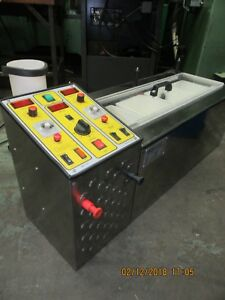 Galvanic Plating Electroplating Bench Top 4 Bay With 2 Tank Heaters