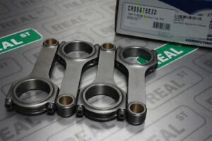 Eagle 4340 H Beam Connecting Rods Set Ford Mustang 2 3l Ecoboost Crs5876e3d