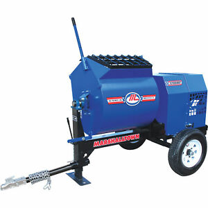 Marshalltown 1200mp3eb 3hp Electric Mortar plaster Mixer With Ball Tow Hitch