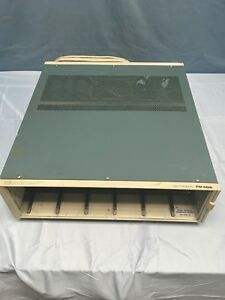 Tektronix Tm506 6 slot Modular Mainframe With Opt 02 Rear Interface Tested