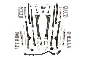 Rough Country 2 5 Suspension Long Arm Lift Kit Jeep Tj Wrangler 97 06 2 4l 2 5l