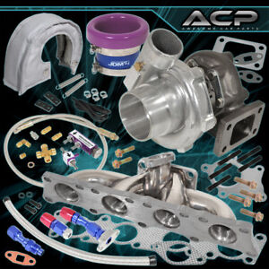 Audi 1 8t Manifold Turbo Cover Velocity Stack Oil Kit Boost Controller Purple