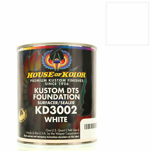 Gallon White Custom Dts Foundation Surfacer Sealer Epoxy Primer House Of Kolor