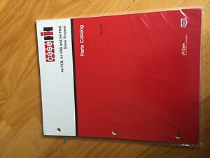 Case 48 54 Snow Blower Thrower Parts Book Catalog Manual Tractor International