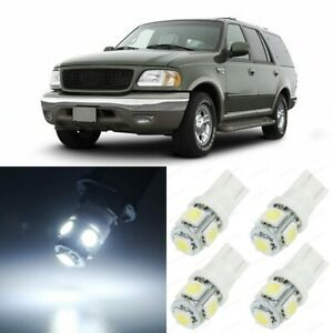 16 X Xenon White Interior Led Lights Package For 1997 2002 Ford Expedition Tool