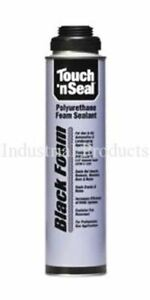 Touch N Seal Gun Foam Black Polyurethane Foam 1 Case 12 24oz Cans 4004529813
