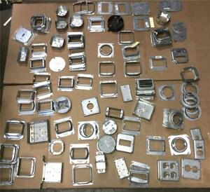 Mixed Lot Of 131 Raco Metal Electrical Boxes Covers Wall Plates Contractor
