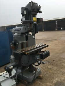 Bridgeport Vertical Drilling Milling Machine Industrial Equipment Cnc