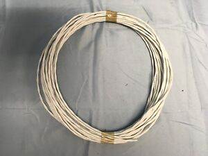 50ft Mil spec M27500 16ml2t Aircraft Cable Silver Teflon 16 2 Wire