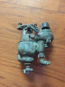 Schebler Mod R Carburator Carb Fuel Mixer Brass Old Gas Engine Marine Motorcycle