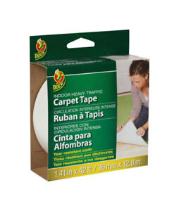 Duck 1 41 In W X 42 Ft L Polyester Indoor Carpet Tape
