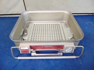 Genesis Sterilization Tray Good Condition 10 X 12 X 8 R353x