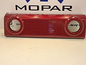 2012 Jeep Wrangler Front Bumper Applique Trim Cover Deep Cherry Red Pearl Coat