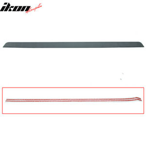Fits 09 12 Acura Tsx 4dr Cu2 F Style Unpainted Roof Spoiler Wing Puf