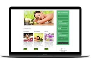 Massage Spa Or Salon Appointment Booking Website Wordpress Scheduling