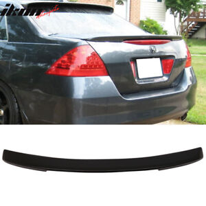 Fits 06 07 Honda Accord 4dr Sedan Oe Facory Style Trunk Spoiler Unpainted Abs