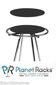 30 Black Wood Topper Display For Round Clothes Rack rack Not Included