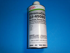 New Dupont Chromaclear Medium Temp Activator 4508s