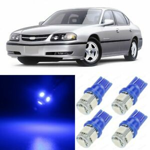 14 X Blue Map Dome Interior Led Lights Package For 2000 2005 Chevy Impala Tool