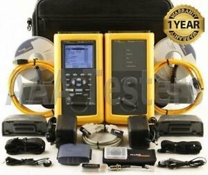 Fluke Networks Dsp 4300 Cat5e Cat6 Cable Tester Dsp4300