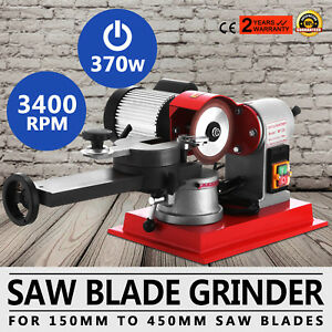 370w Saw Blade Grinder Sharpener Machine Carbide Level Rotation Wood Alloy