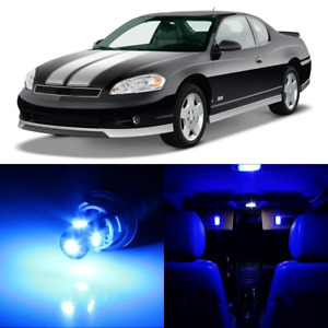 11 X Blue Interior Led Lights Package For 2000 2007 Chevy Monte Carlo Tool