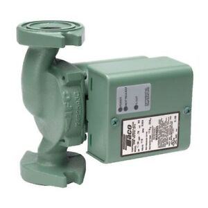 Taco 0013 vdtf3 Series 0013 variable Speed Delta t Cast Iron Circulator Pump