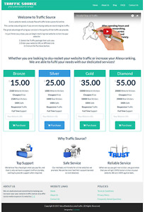 Traffic Reseller Premium Website Business For Sale With Free Installation