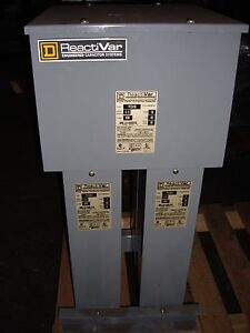 Square D Power Factor Correction Capacitor Pfcd4150 pfcd4075 w2