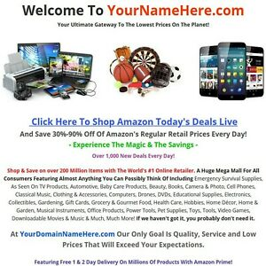 Amazon Affiliate Online Business Website 1f For Sale Over 200 Million Items