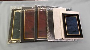 Mixed Lot Of 5 Trophy Parts Acrylic Plaques Various Sizes