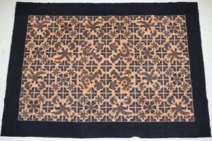 Old Tribal Exotic Chinese Miao People S Hand Cut Embroidery Bedspread
