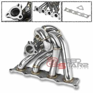 K04 1 8t Stainless Turbo Exhaust Manifold 40mm Wastegate Flange Port gasket