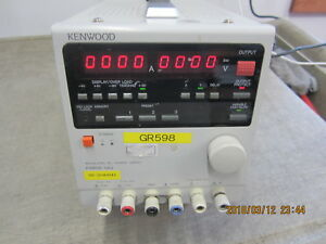 Kenwood Adjustable Dc Regulated Power Supply Pwr18 1 8q Warranty