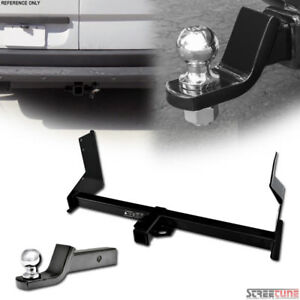 Class 3 iii Trailer Hitch Tube 2 Ball Towing Mount For 07 16 Sprinter Cargo Van