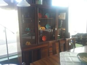 Mid Century Modern China Cabinet Local Pick Up Only
