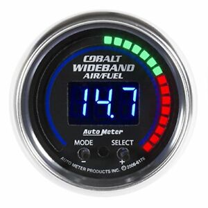 Auto Meter 6178 Cobalt Wideband Air And Fuel Ratio Kit