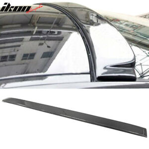 Fits 06 11 Bmw 3series E90 Sedan Ac Style Carbon Fiber Cf Rear Roof Spoiler Wing