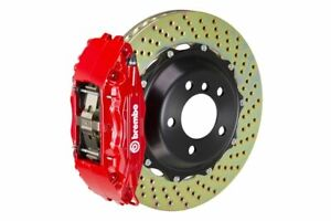 Brembo Gt Brake Kit Front 380mm 2 Pc Drilled 4 Piston Red Fx35 Fx45 2003 2008